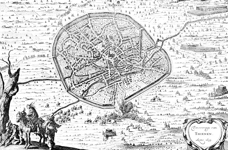 Veroveringe van Thienen. Anno 1635