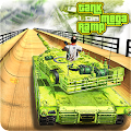 Mega Ramp Army Tank Racing 3D (Impossible Stunts) (Unreleased)