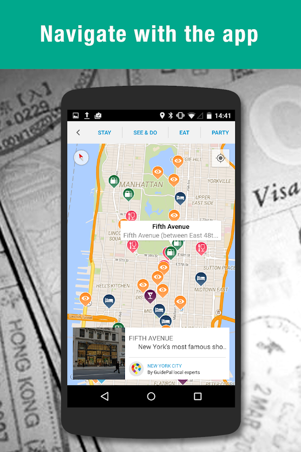 Guidepal Offline City Guides - screenshot