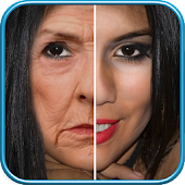 Make My Face Old Aging Photo Editor Icon