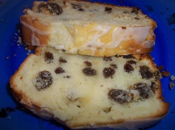 Tender Irish Tea Cake / Lemon Glazed Recipe