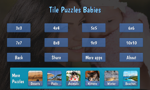 Tile Puzzles u00b7 Babies  screenshots 4