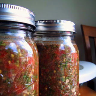 Lacto-Fermented Salsa