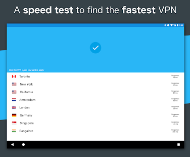 Fastest vpn on android