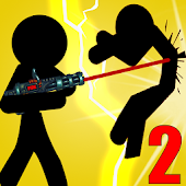 Stickman Destruction Warrior 2
