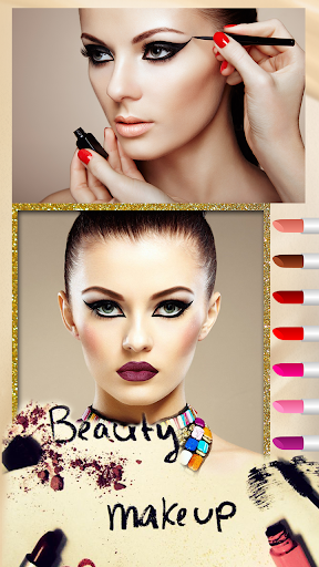 Face Makeover : Lips Makeup Screenshot