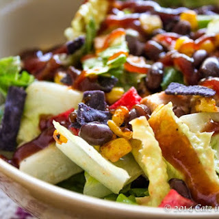 {Copycat} Panera Bread BBQ Chopped Chicken Salad