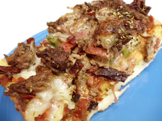 Italian Stallion Pizza (my Hubby's Favorite) Recipe