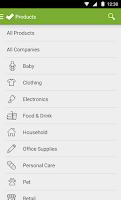 Screenshot of Shop Ethical!