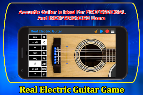 Real Electric Guitar Game 1.1 APK Mod Updated 2