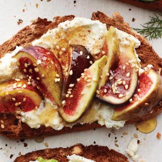 Ricotta Fig Toast