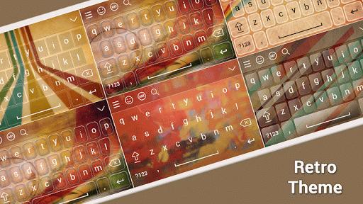Retro Keyboard Theme