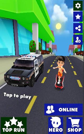 Town Runner Adventures 3D screenshot 2
