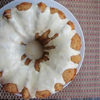 Rum Glazed Banana Bundt Cake