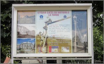 """Photo: 2016.07.21 ISTORIA GAZELOR NATURALE LA TURDA 13 mai 1912 - Prefectura Judetului Turda, este prima din Romania si a doua dupa Titusville SUA, care a concesionat gaze naturale pentru consum in industrie, gospodariile populatiei si iluminat . 03.septembrie 1914 - punerea in functiune a conductei de gaz naturale in lungime de 55 km, """"Sarmasel Turda""""  1917 - Punerea in functiune a primului iluminat public din Romania cu gaze naturale"""
