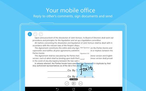 Foxit Mobile PDF  - Edit and Convert 6.6.1.0121 screenshots 13