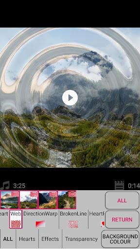 Slideshow with photos and music screenshot 7