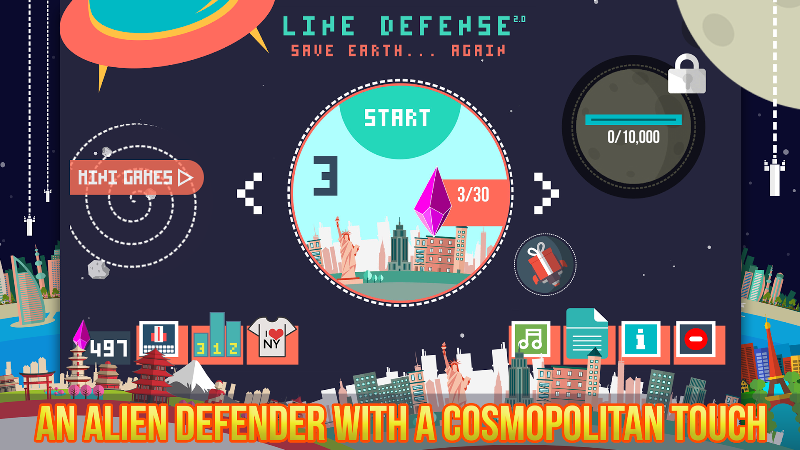 Line Defense- screenshot