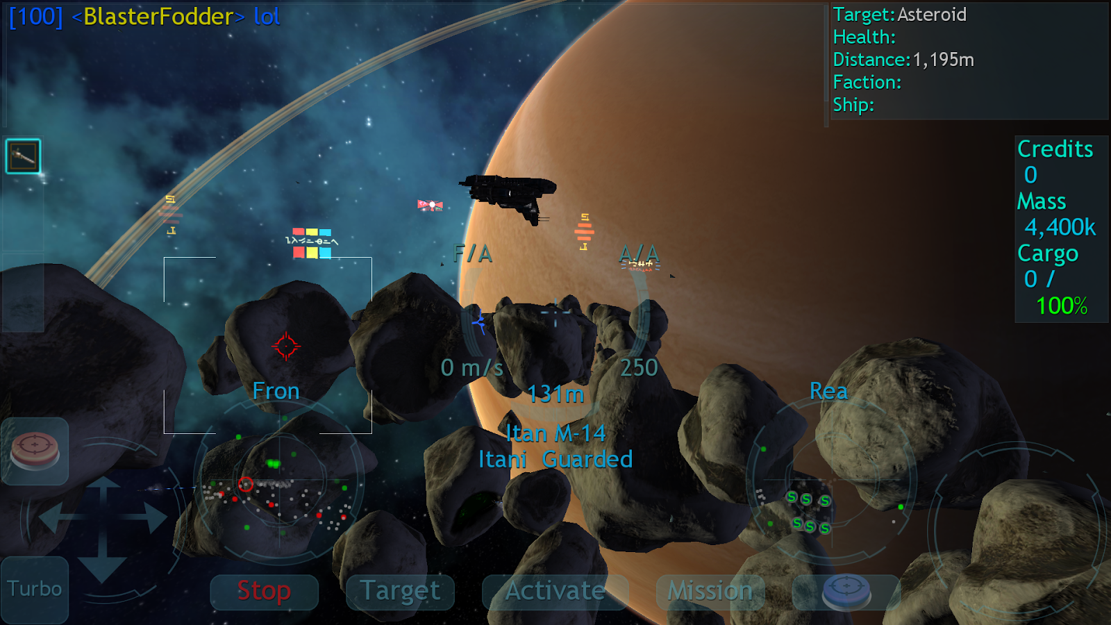 Vendetta Online HD - Space MMO- screenshot