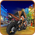 Highway Speedster Bike 3D icon