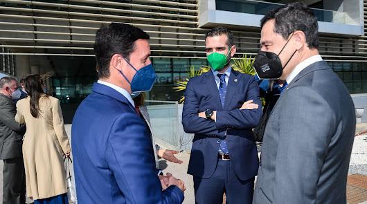 El alcalde destaca la apuesta de Juanma Moreno por la capital almeriense