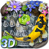 Unduh Lively 3D Koi Fish Keyboard Gratis