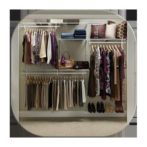 250 Small Closet Organisers (app)