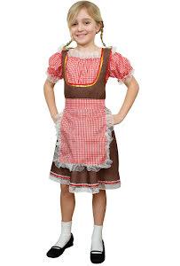 Tyrolerklänning, barn