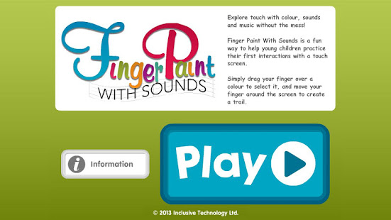 Finger Paint With Sounds