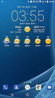 Weather & Clock Widget for Android แอป (APK) ดาวน์โหลดได้ฟรีสำหรับ Android/PC/Windows screenshot