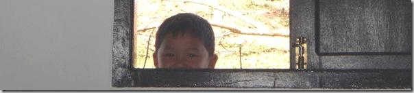 Kid in Lao. Hello World! Peek a boo!