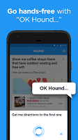 screenshot of HOUND Voice Search & Personal Assistant
