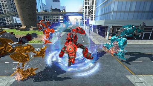 Spider Robot Car Transform Action Games  screenshots 3