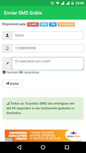 SMS GRÁTIS - TORPEDOS GRÁTIS screenshot 1