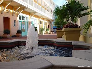Photo: Fountain, Town Center, Celebration, FL