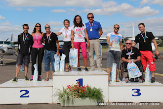 Photo: Podium des championnats de France handi 2015 @ Vichy
