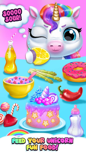 My Baby Unicorn - Virtual Pony Pet Care & Dress Up android2mod screenshots 6
