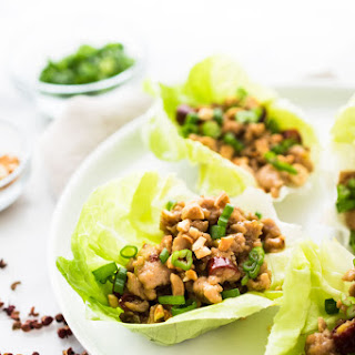 Kung Pao Lettuce Wraps.