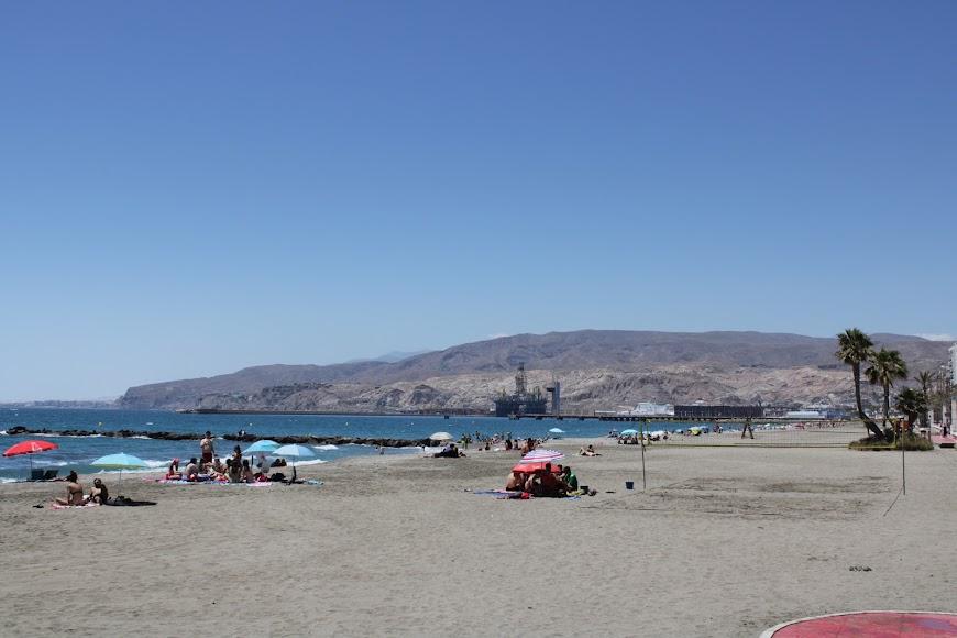 Paseo Marítimo y playas de Almería.