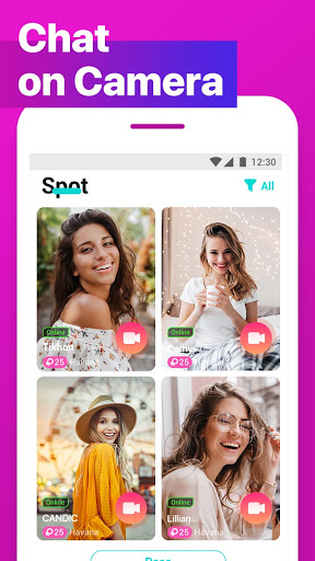 CherrU: video chat & live call  screenshots 5