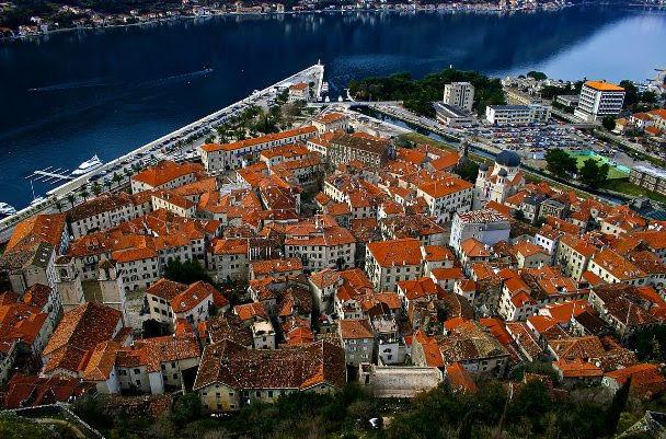 Cidade velha de Kotor