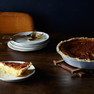 Mario Batali's Chess Pie