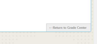 Return to Grade Center