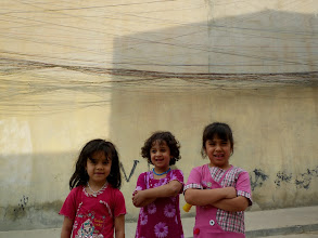 Photo: Young ladies, Hawlêr (Erbil), South Kurdistan (Iraq), 2011