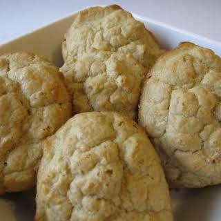 Organic Oat Flour Drop Biscuits.