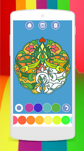 Coloring Books for Adults Mandala Color Pages Apps on Google Play