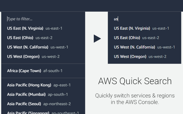 AWS Quick Search