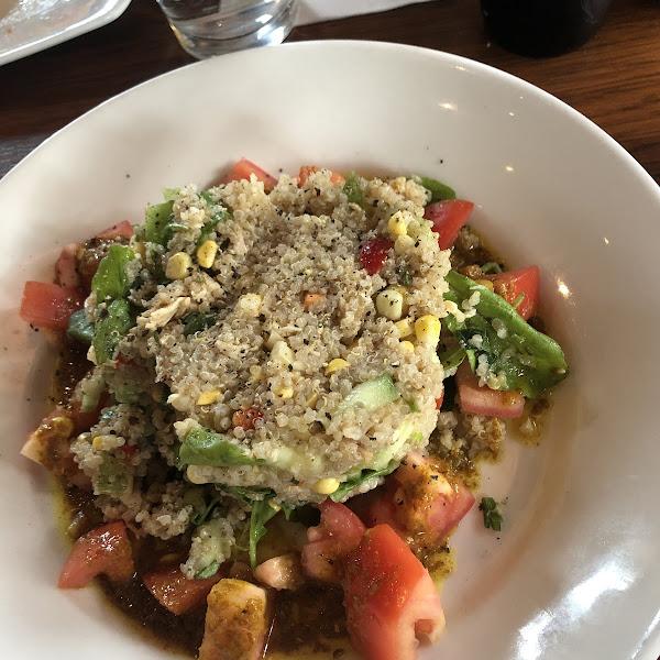 Quinoa Chicken Salad.