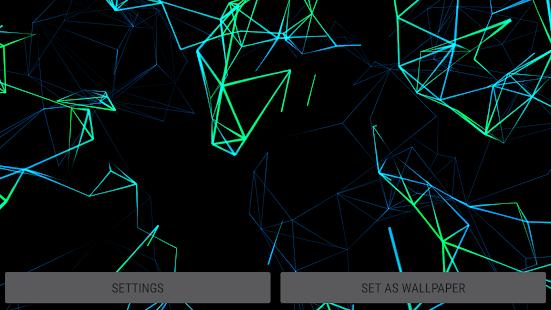 [Neon Particles 3D Live Wallpaper] Screenshot 18