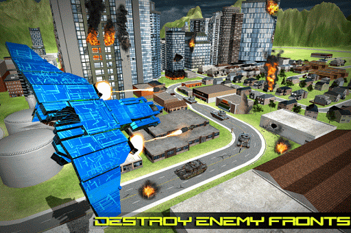 Transform Robot Action Game filehippodl screenshot 1